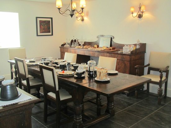 Kilmahon House: Delicious Irish Breakfast