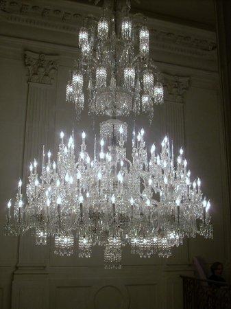 Baccarat crystal chandelier picture of cristal room baccarat cristal room baccarat baccarat crystal chandelier aloadofball Images