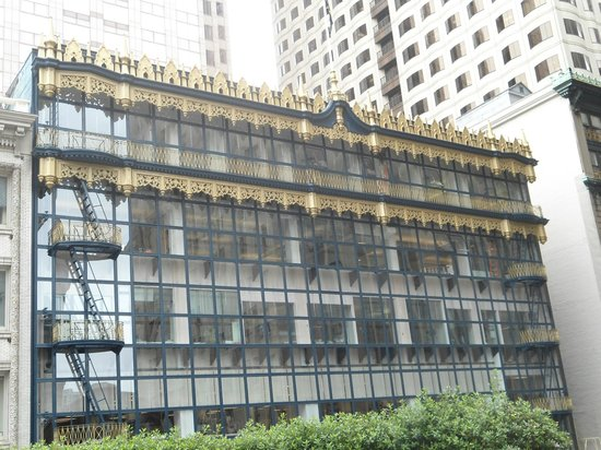 San Francisco Architecture Walking Tour : Restored Hallidie Bldg blt in 1918 by Willis Polk