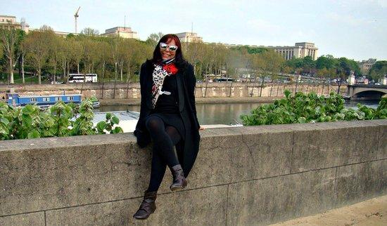 Hotel Eiffel Capitol: No Sena.
