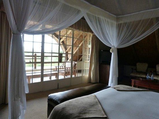 Ilala Lodge : Zur Terrasse