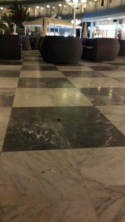 "Mediterranean Palace Hotel: ""животное"" на фоне кафе"