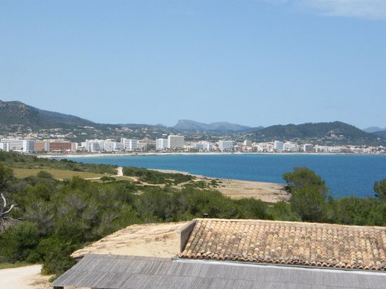 View of Cala Millor from Castle Picture of Hotel Cala Bona Cala