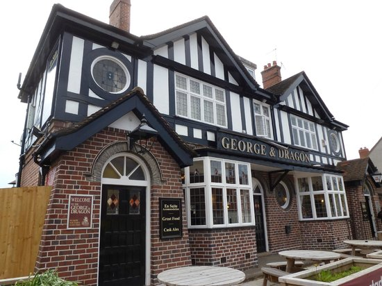 The George & Dragon in Coleshill: Front of the pub