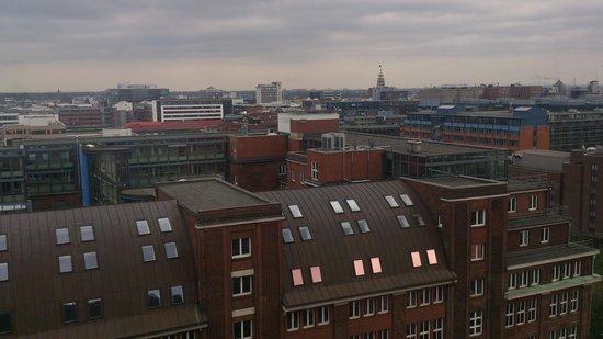 City Hotel Hamburg Mitte: Вид от лифта