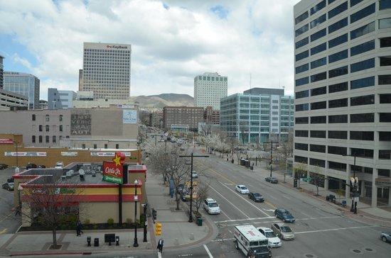Salt Lake City Marriott City Center: View from Room