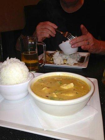 Tuptim Thai: Panang Curry & Chang Beer