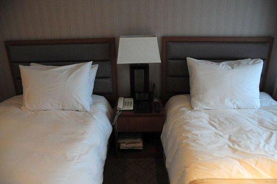 Staz Hotel Myeongdong 1 : ツインルームのベッド