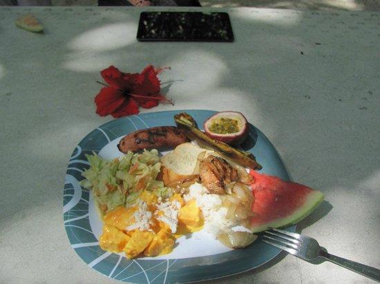 Koka Lagoon Cruises: Lunch