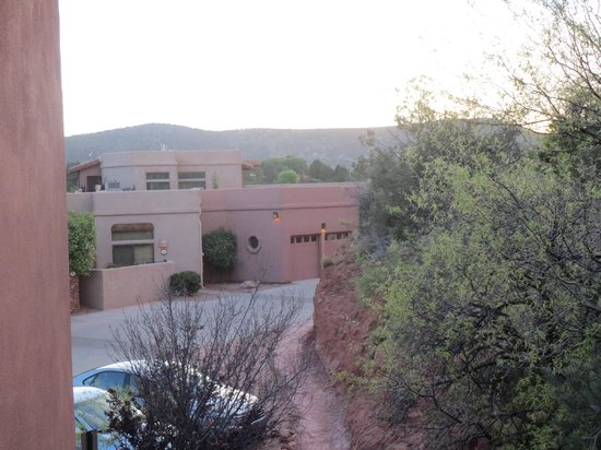 Las Posadas of Sedona: View of property from our balcony