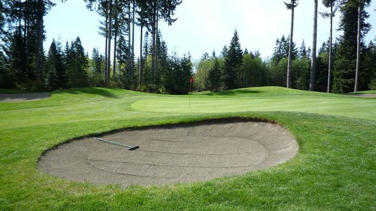 Storey Creek Golf Course: Lots of bunkers