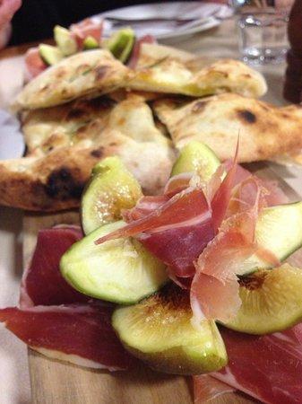 La Bella Italia: Prosciutto and figs antipasto