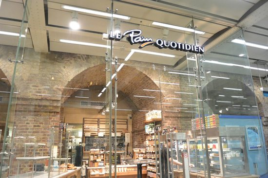 St. Pancras International Station: Le Pain Quotidien@St Pancras station
