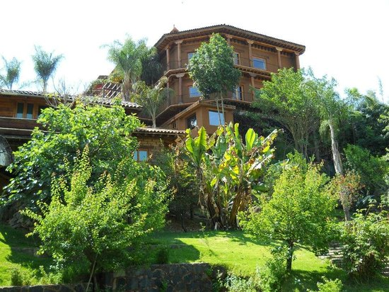 Hacienda View From The Garden Picture Of Hacienda Ucazanaztacua