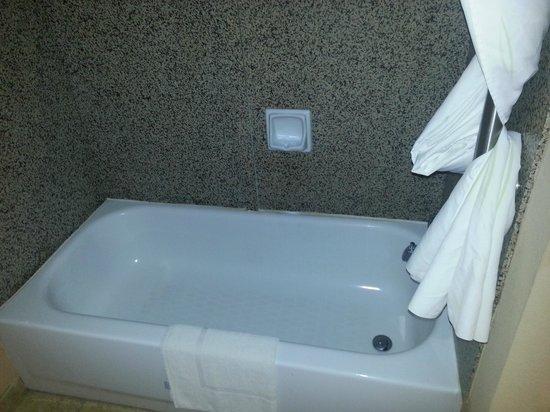 Comfort Suites Brunswick: Bathtub