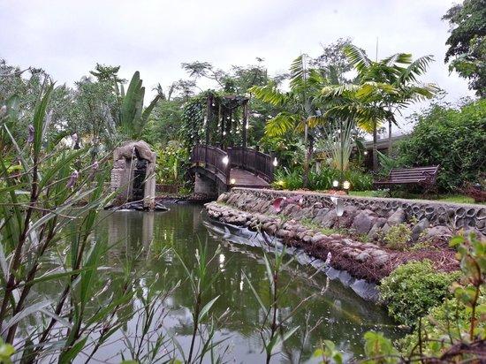 Hotel Diuwak: La planta de tratamiento de aguas se encuentra al rededor de este lago y hasta llegar a la pisci