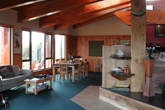 Tarkine Wilderness Lodge: Interior