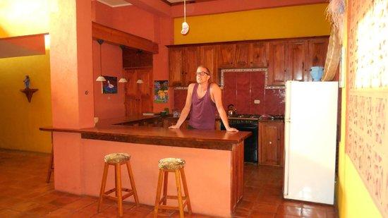 Guesthouse El Nancite: Keuken