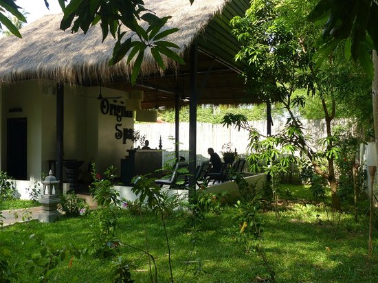 Sojourn Boutique Villas: The beautiful Spa area