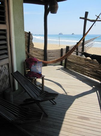 Hotel La Termita : Porch of front, lower room