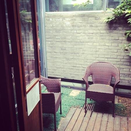 Old Beijing Square Hotel: private patio