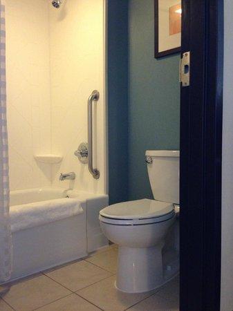 Hyatt Place Fort Worth Cityview: Small bathroom