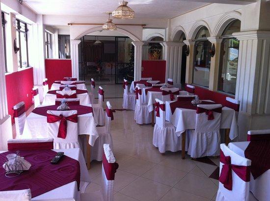 Castillo de los Altos: Restaurante