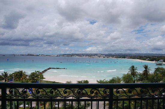 ‪‪Hilton Barbados Resort‬: View of the Bay - Yatchs and Sailboats‬