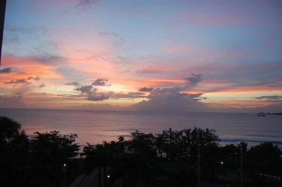 Hilton Barbados Resort: Sunset