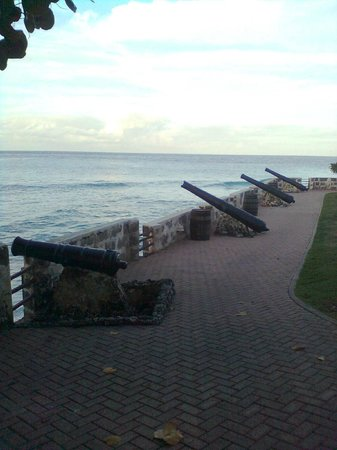 Hilton Barbados Resort: Fort