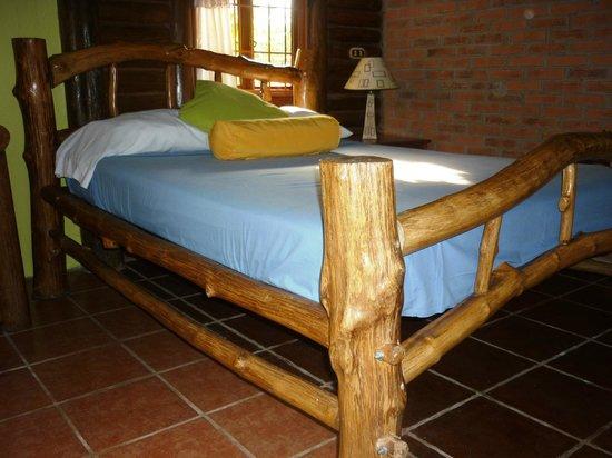 Cabanas Rusticas La Fortuna : Habitación principal/Principal room - Cabaña #1