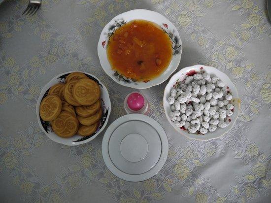 Hotel Islambek: 朝食