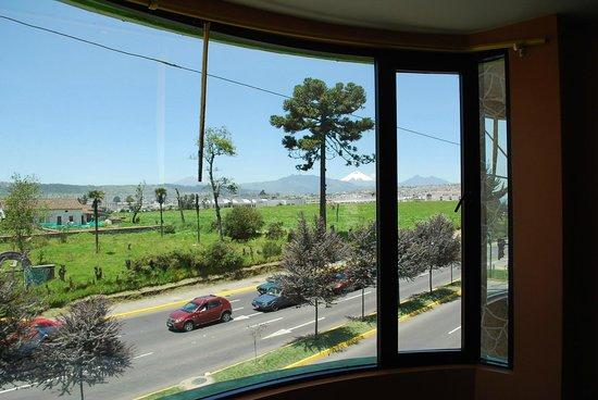 Hotel Gran Quitumbe: Vista del Cotopaxi