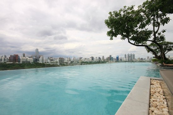 SO Sofitel Bangkok: another view from the pool