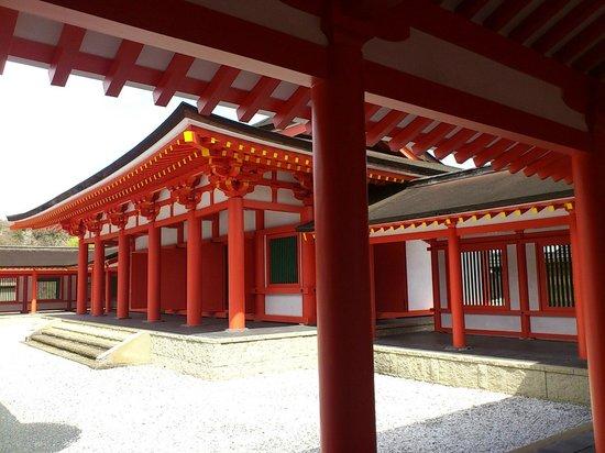 Oshu, Japan: 政庁をチラッと