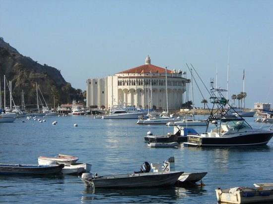 Catalina Island Inn: The casino is now a movie theater
