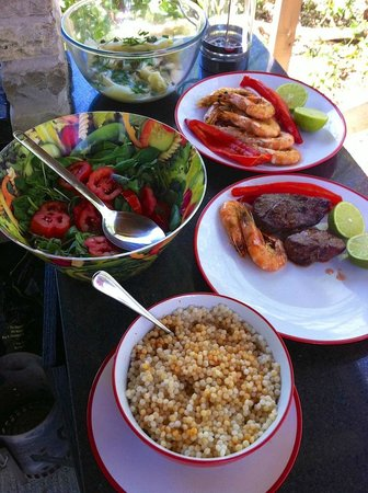 Sopley Lake Yurt Camp: Cooking up a storm