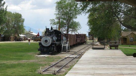 Laws Railroad Museum: Old train