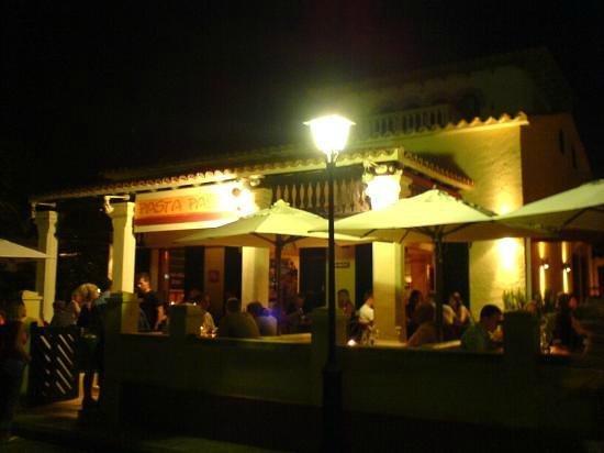 Pasta Pasta: Cena en el restaurante