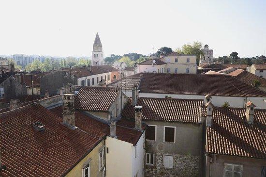 Old Town Hostel: Top floor view