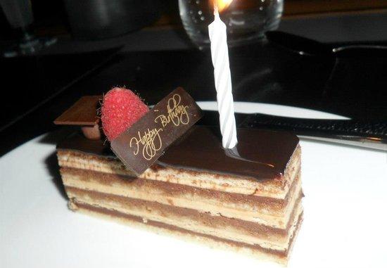 Armani/Amal: Complimentary Cake