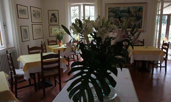 Hotel Degli Olivi: La sala da pranzo