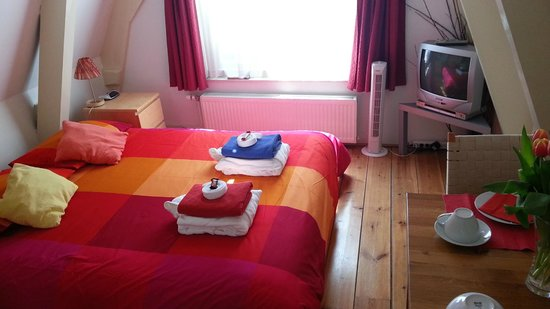 CityCenter Bed and Breakfast Amsterdam : Double Room at CityCenter Bed and Breeakfast Amsterdam