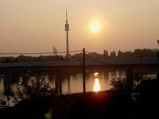 Strandhotel Alte Donau: Aussicht vom Zimmer