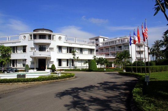 La Residence Hue Hotel & Spa: Entrée de l'hôtel
