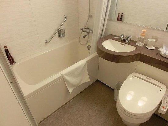 Hotel Mets Mejiro: 清潔なバスルーム