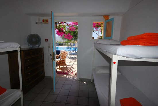 Santorini Camping: YOUTH HOSTEL