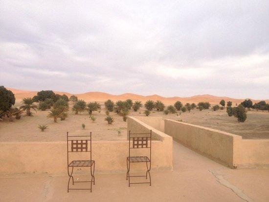 Dar El Janoub: Vistas desde la Terraza a las dunas