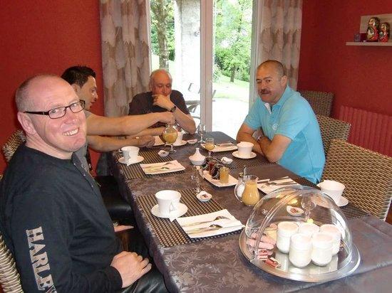 La Buissounette : Ontbijt