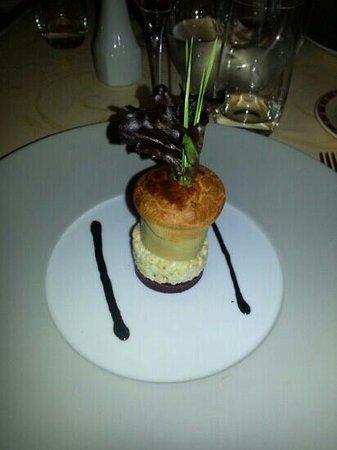 Le Montcenis: burger de foie gras